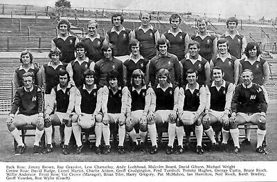 Aston Villa Football Team Photo>1971-72 Season