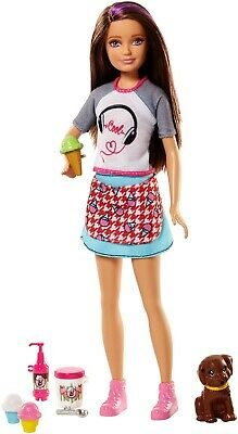 Mattel FHP62 Barbie Sisters Skipper Doll and Ice Cream Stand