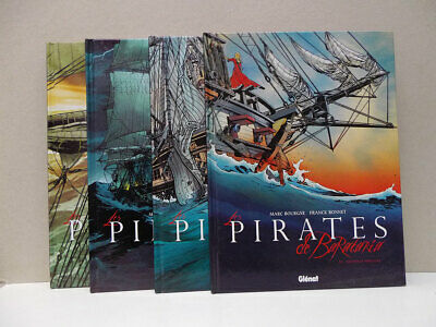 ➡ GLENAT ☆ Pirates de Barataria Lot des 4 premiers ☆ Bourgne Bonnet ☆ TBE ☰