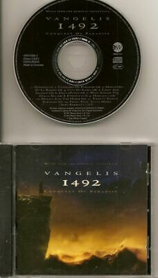VANGELIS 1492 Conquest Of Paradise OST CD FREE WW SHIPPING