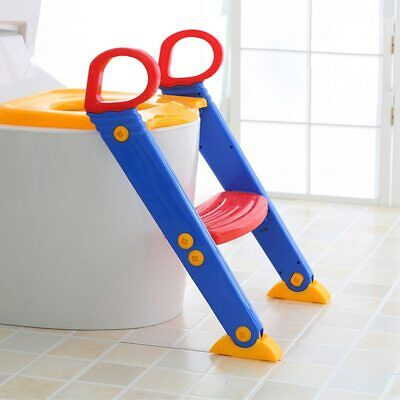 Kids Potty Training Seat with Step Stool Ladder for Toddler Child Toilet Chair