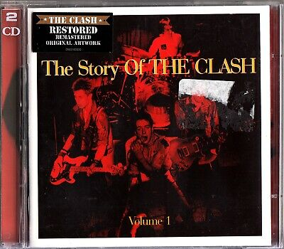 The Story Of THE CLASH- Volume 1- Best Of/ Greatest Hits- 2 CD - London Calling
