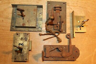 Antique/Vintage~Furniture Locks & Keys~Cupboard~Drawers~Restoration~Job Lot~2~