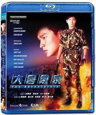 "Andy Lau ""The Adventurers"" Rosamund Kwan Ringo Lam 1995 HK Classic Blu-Ray"