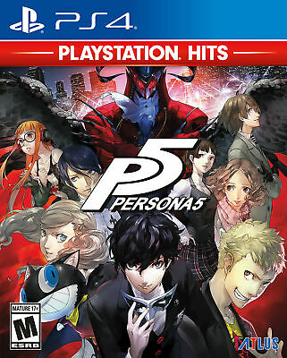 Persona 5 PS4 Game (#)