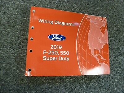 2019 ford f-550 super duty chassis cab truck electrical wiring diagrams  manual