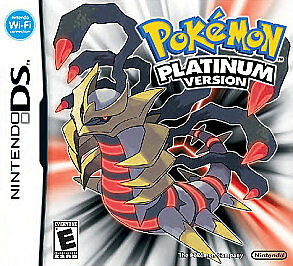 Pokemon -- Platinum Version (Nintendo DS, 2009) GAME CARD ONLY, TESTED & WORKING