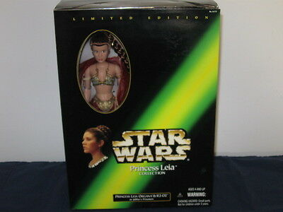 Star Wars Leia Collection Carrie Fisher Princess Leia & R2-D2 As Jabba Prisoners