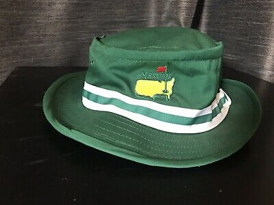 ab524251891 MASTERS AUGUSTA TRADITIONAL Green Bucket Hat Medium Mint Condition ...
