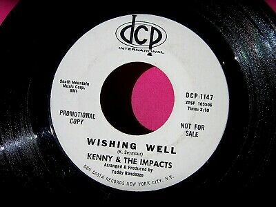 KENNY & THE IMPACTS - Wishing Well - Promo 45 rpm - DCP 1147