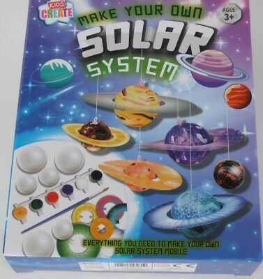 KIDS CREATE MAKE Your Own Solar System - £5 49 | PicClick UK