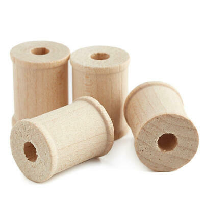 Factory Direct Craft Bulk Unfinished Wood Spools | 4000 Total Pieces