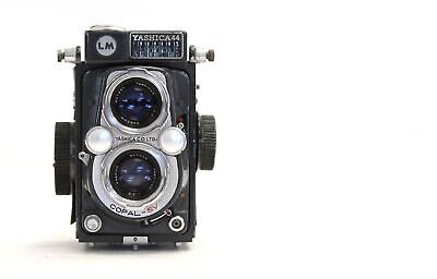YASHICA 44 LM TLR Camera with Yashinon 60mm Lenses - S60