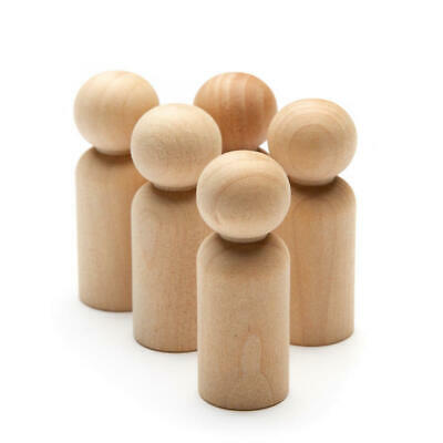 Factory Direct Craft Bulk Unfinished Wood Doll Bodies | Package of 3200 Pieces