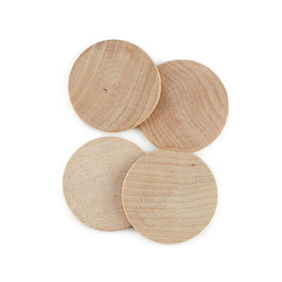 Factory Direct Craft Bulk Unfinished Wood Round Discs | Package of 5000 Pieces