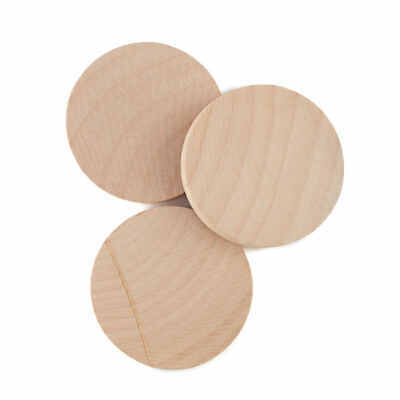 Factory Direct Craft Bulk Unfinished Wood Discs | Package of 1500 Pieces