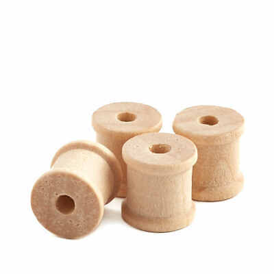 Factory Direct Craft Bulk Unfinished Wood Spools | Package of 5000 Pieces
