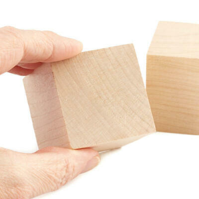 Factory Direct Craft Bulk Unfinished Wood Cubes | Package of 270 Pieces