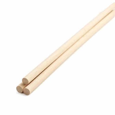 Factory Direct Craft Bulk Unfinished Wood Dowel Rods | Package of 1000