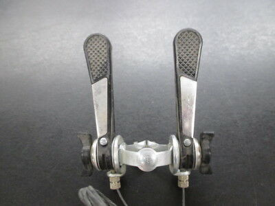Simplex Shift Lever Levers 2 x 5 Alloy Down Tube Clamp On Road Used