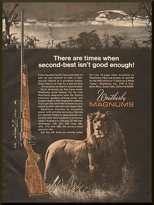 Vintage 1970-3413;Ad for Weatherby Magnum Rifles