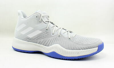 c69ba89a6 Adidas Mens Mad Bounce Grey Two Grey One Grey Three Basketball Shoes Size 18