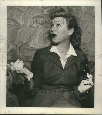 1952 Press Photo Actress Eve Arden - nox39363