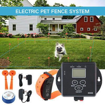 In-Ground Electronic Rechargeable Pet Dog Fence Containment System Waterproof