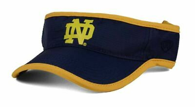 sneakers for cheap 209f8 1ca5a Notre Dame Fighting Irish Visor Hat Cap Top Of The World