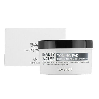 [SON&PARK] Beauty Water Toning Pad 50ea