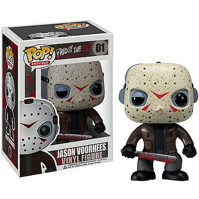 FUNKO POP MOVIES Series 1 FRIDAY THE 13th JASON VOORHEES #01 Figure IN STOCK