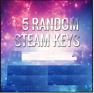 1 Random PREMIUM Steam Key (+$9.99) + 4 BONUS Keys [REGION FREE]