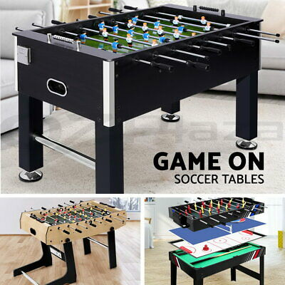 4FT 5FT Soccer Table Tables Balls Foosball Football Game Home Party Gift Black