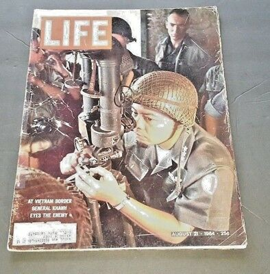 August 21, 1964 LIFE Magazine Vietnam Coke ad 60s ads add FREE SHIPPING Aug 8 20