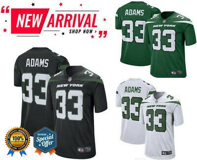 13ea4e0d314 Men's New York Jets Jamal Adams #33 Player Game Stitched Jersey [3 COLORs]