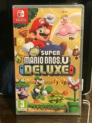 New Super Mario Bros. U Deluxe Nintendo Switch -- FREE SHIPPING----