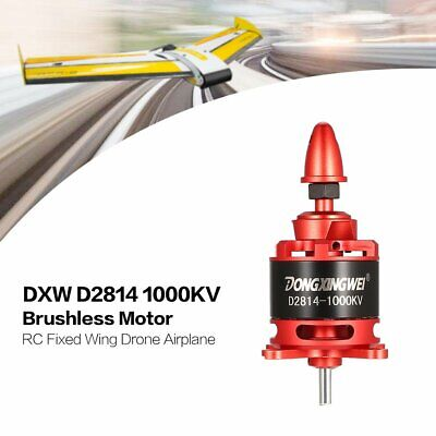 DXW D2814 1000KV 3-4S Outrunner Brushless Motor for RC Fixed Wing Airplane LD