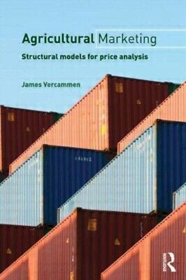 Agricultural Marketing: Structural Models for Price Analysis (Rou...