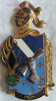 IN10891 - INSIGNE ESOG CHAUMONT, 318° Promotion, 4° Compagnie