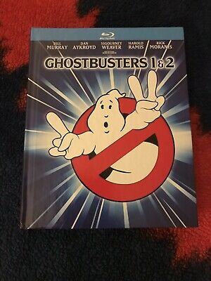 Ghostbusters/Ghostbusters 2 (Blu-ray, 2014, 2-Disc Set-Digibook, Mastered in 4K)