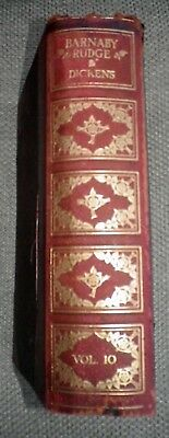 BARNABY RUDGE & MASTER HUMPHREY'S CLOCK Charles Dickens Colour Illustrated 1903