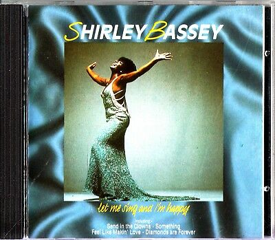 SHIRLEY BASSEY -Let Me Sing And Im Happy CD (Best Of/Greatest Hits)