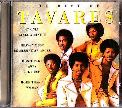 THE BEST OF TAVARES- Greatest Hits CD 1996 - It Only Takes a Minute (Disco/Funk)