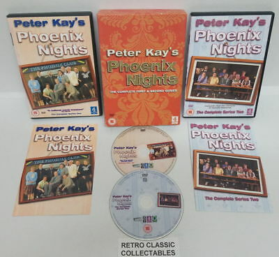 Peter Kay's Phoenix Nights - The Complete First & Second Series - DVD BOXSET #12