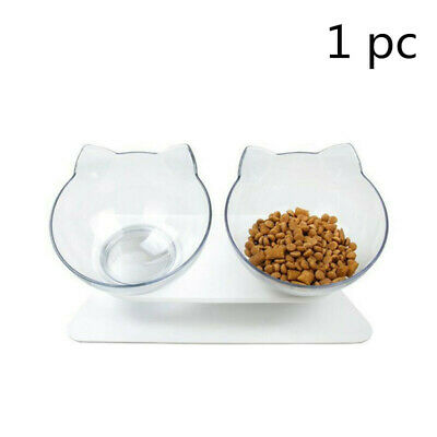 Cat Food Bowl With Raised Stand Pet Food Bowl Perfect for Cats and Small Dogs