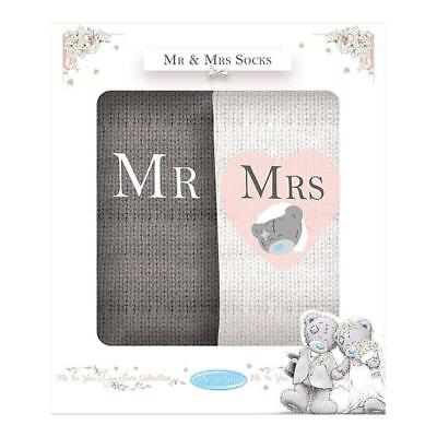 Me to You Mr /& Mrs Wedding Mugs Double Gift Platinum Finish Tatty Teddy Bear