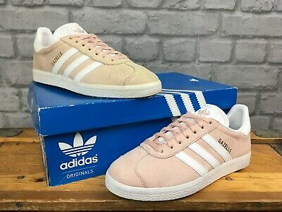Adidas Pale Pink Gazelle Originals Trainers Mens Re Dye Various Sizes