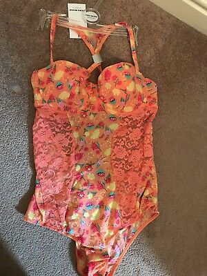 3166cf3e9a278 TED 1 - Lovely soft bodysuit / teddy, suspenders, BN, 38B, Intimates ...