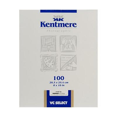Kentmere 6007418 VC Select Paper, 8x10in, 100 Sheets