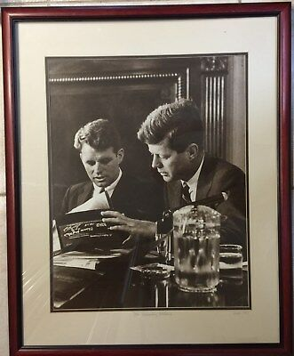 President John F. Kennedy & Atty. Gen. Robert F. Kennedy - Photo Print - Framed